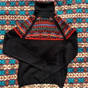 Sweaters - Colorful turtleneck large